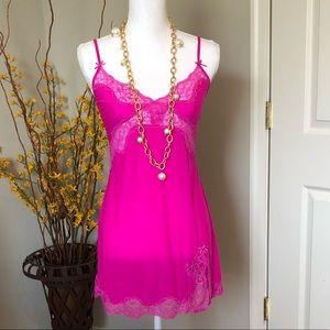 Victoria's Secret Hot Pink Slip